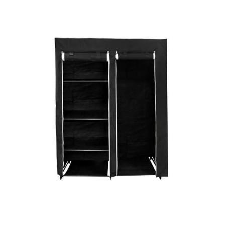 Florida Brands Fb Fb2196 Black 48 Inch Portable Closet Walmart Com