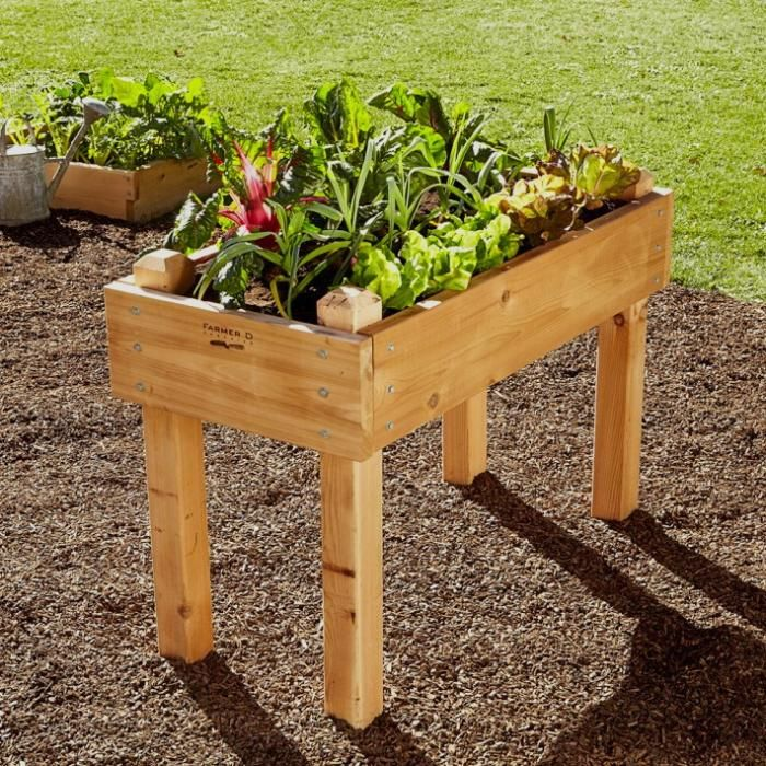 images about Garden RAISED BEDS on Pinterest Gardens