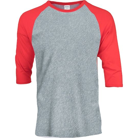 Get the 12 Pack: Gildan® Adult Raglan T-Shirt at Michaels. This simple and comfortable T-shirt from Gildan features raglan sleeves with a crew neck, and is perfect to team with cargo pants or a pair of jeans. This simple and comfortable T-shirt from Gildan features raglan sleeves with a crew neck, and is perfect to team with cargo pants or a pair of jeans. You can use fabric paints or appliques to add a personalized touch to this cotton T-shirt. Details: Available in multiple sizes and colors, 1