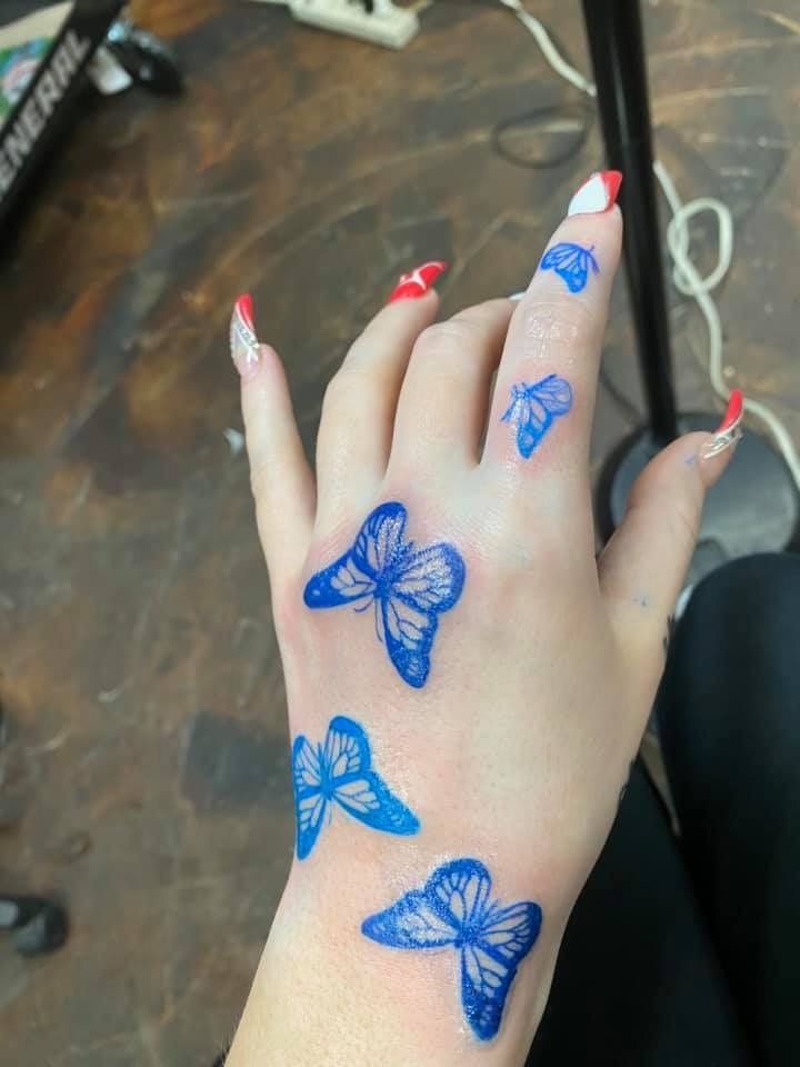 Pin By Life Lovin On Neck Tattoos In 2020 Red Ink Tattoos Girly Tattoos Red Tattoos