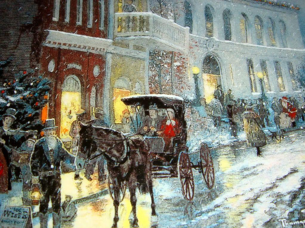 victorian christmas scenes - photo #6