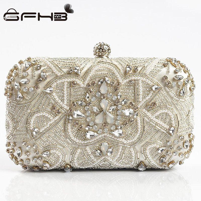 50569a4612af9 [44% off] Women Evening Bag Aften Taske Clutch Handbag Day Clutches Bags  Shanel Fashion Style Diamonds Hasp Design Wedding Purse Pochette #fashion  ...