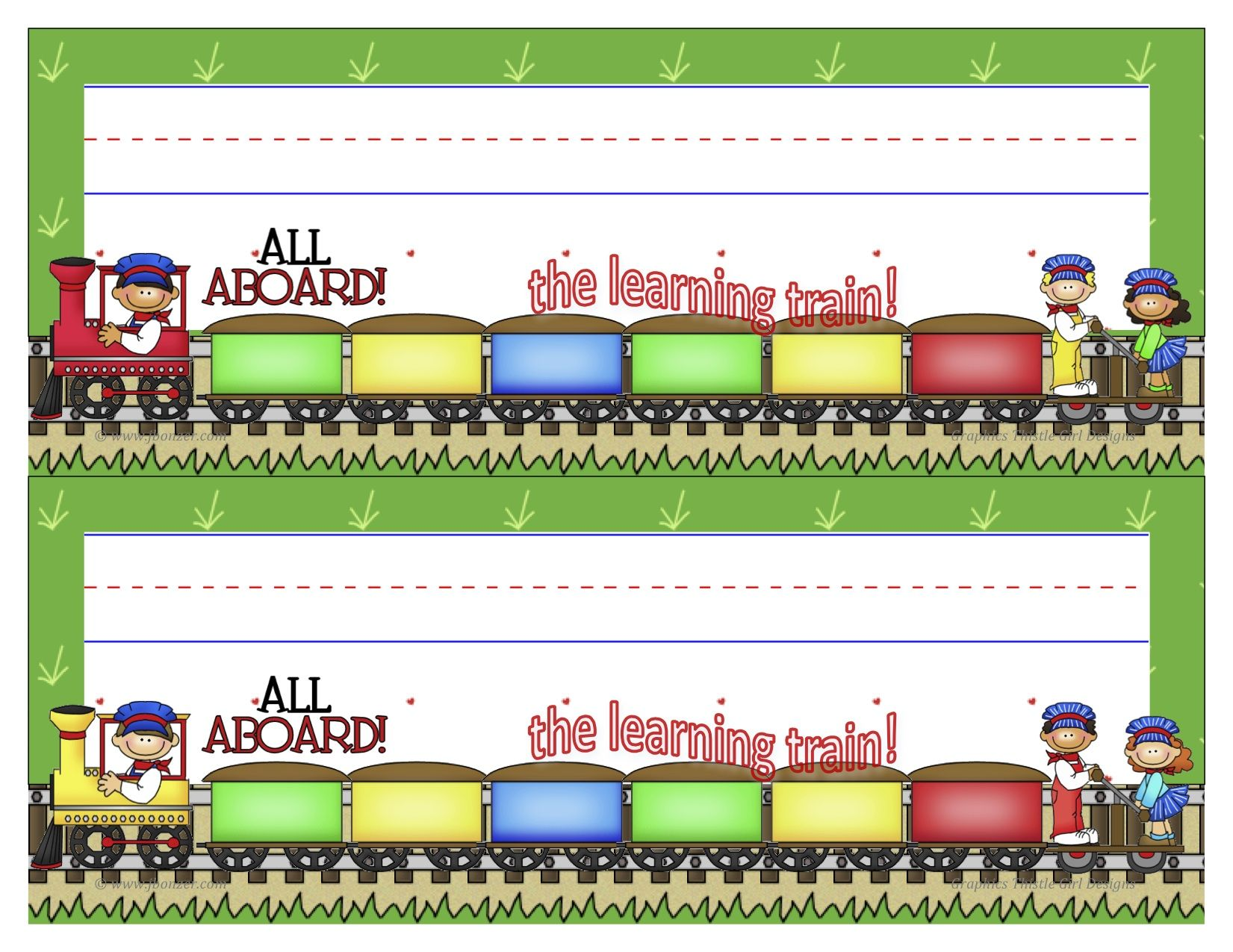 Jbonzer Trainnameplatebyjudybonzer