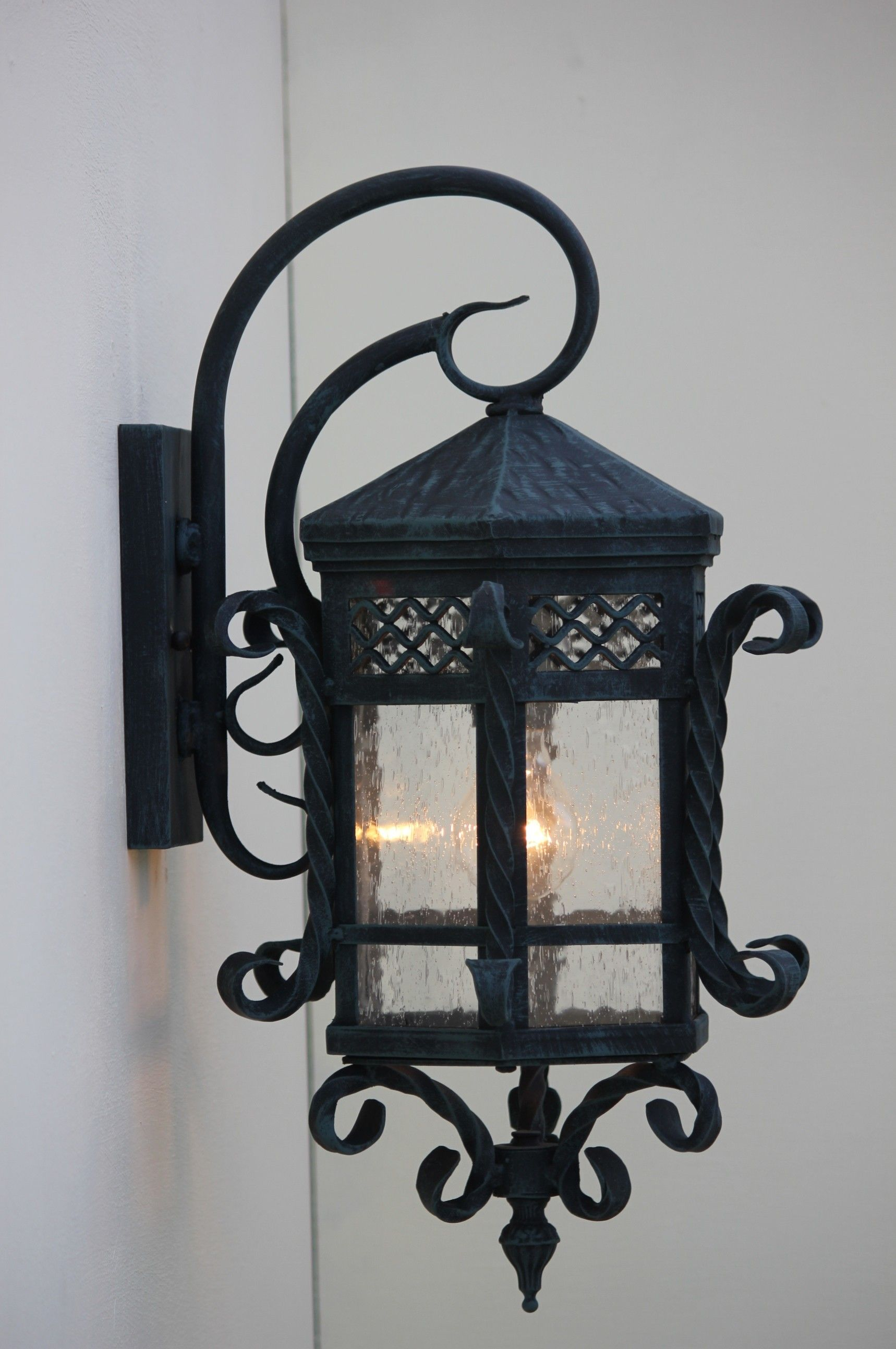 Spanish outdoor hand forged wrought iron outdoor lighting home spanish outdoor hand forged wrought iron outdoor lighting aloadofball Image collections