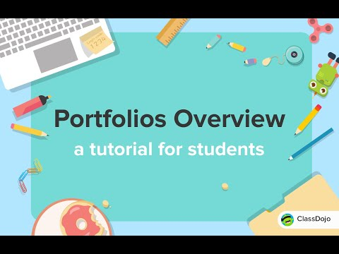 How Students Post To Their Portfolio On Classdojo Youtube Class Dojo Instructional Coaching Student