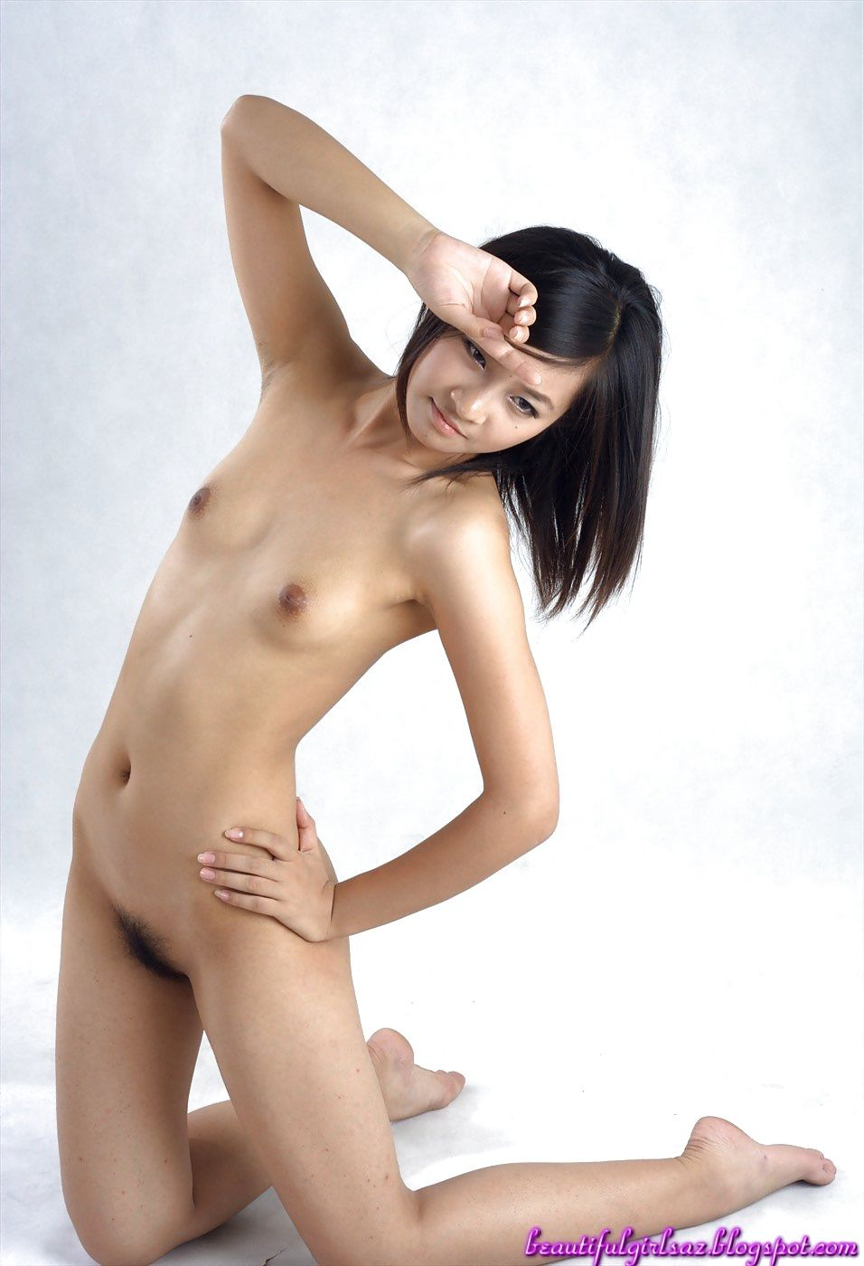 Asian pussy like a flower blossom babe