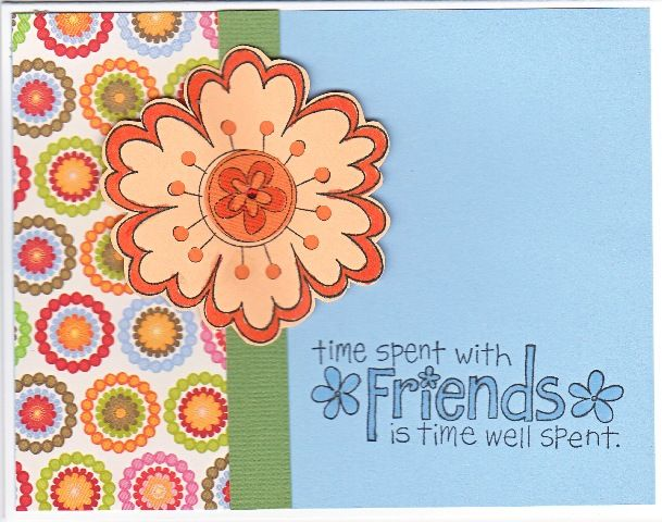 Flower Friend by detour3 by detour3 - Cards and Paper Crafts at Splitcoaststampers