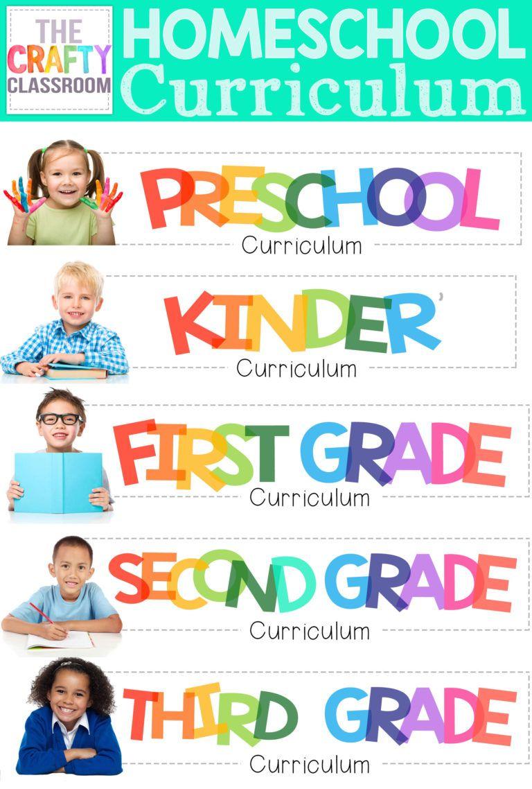 Free Simple Homeschool Planning Pack Kindergarten
