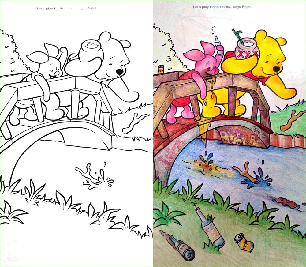 Guest Post Reflections Corrupt Coloring Book Coloring Books Creepy Kids