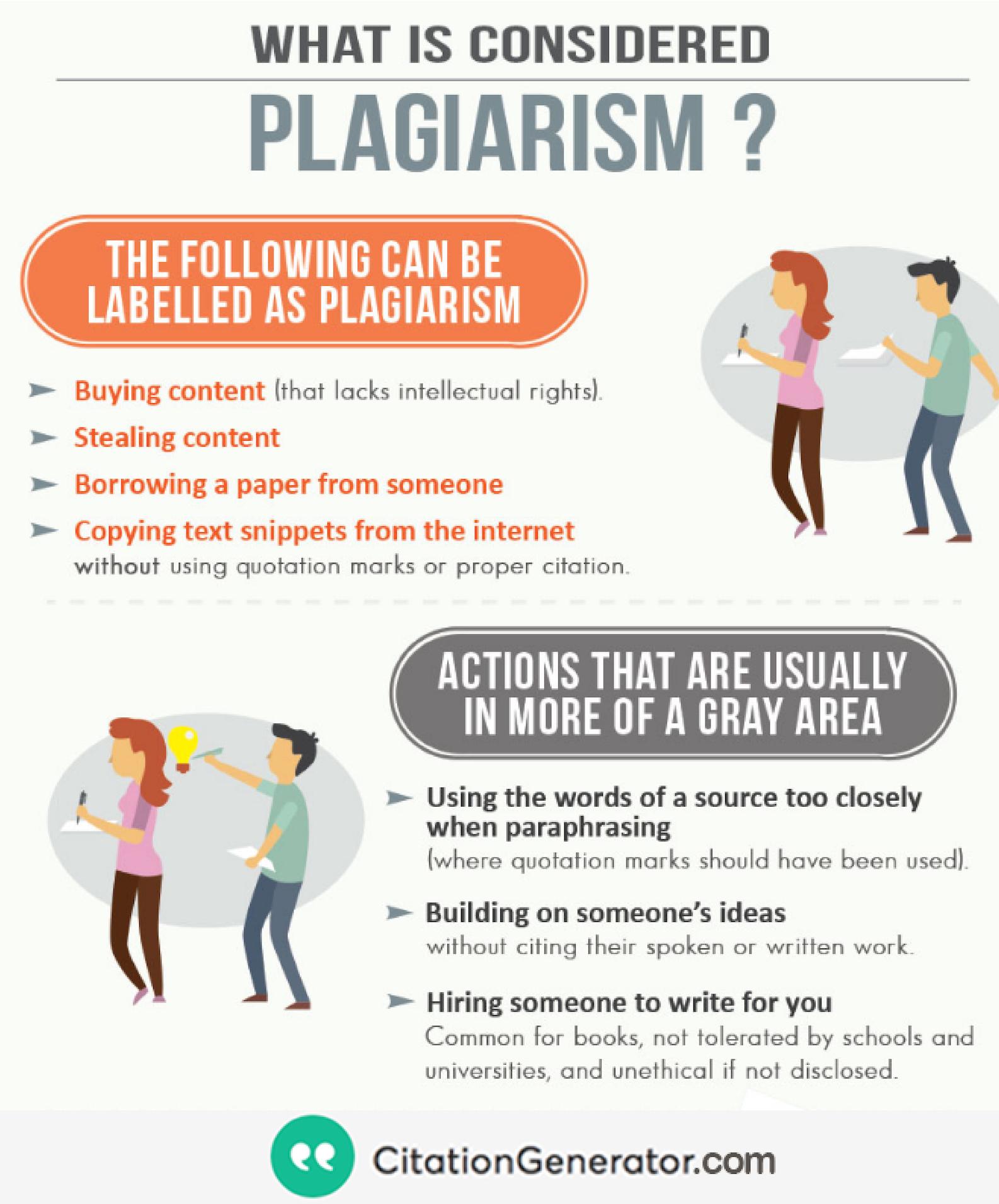 What I Plagiarism Proper English Grammar Study Words Paraphrasing