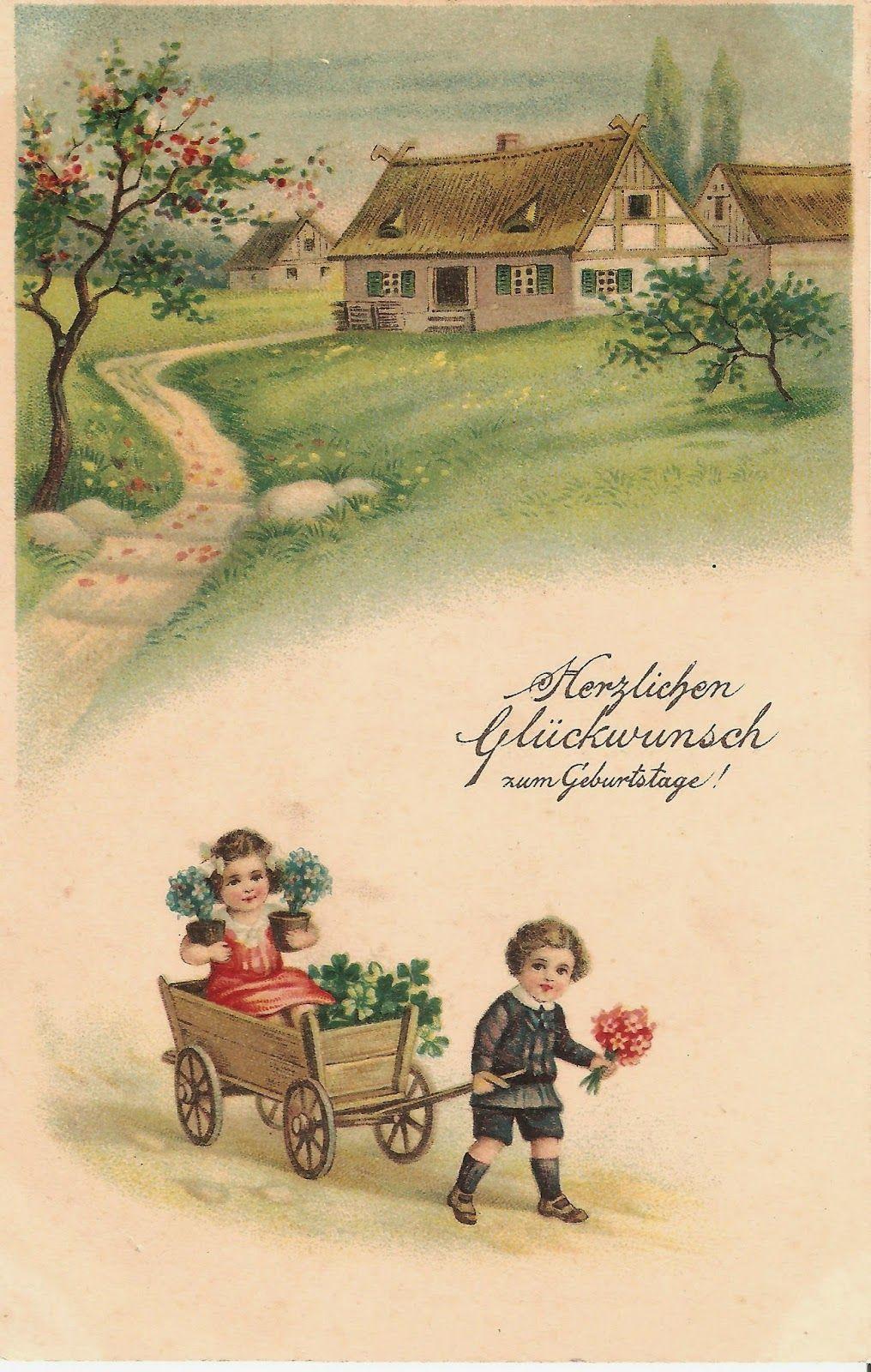 Kirjeitä myllyltäni: vanha postikortti