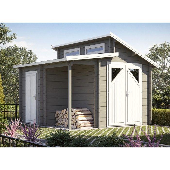 Gartenhaus Modell Nordic Combi 40