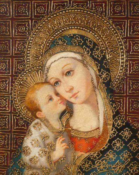 94b04b7a503d9 La Vierge Marie et l Enfant Jésus