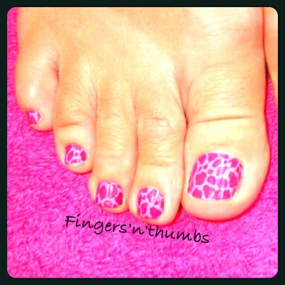 Minx pink cheetah toes #nails #minx #toes   Nails   Pinterest ...