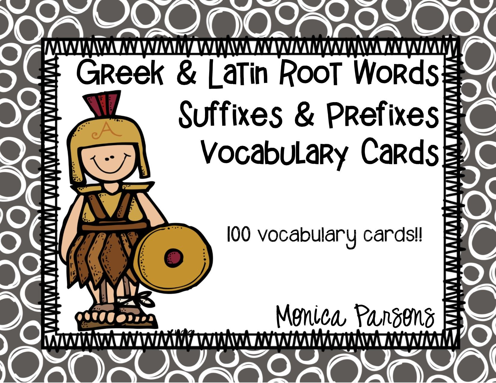 Greek And Latin Roots Suffixes And Prefixes Vocabulary