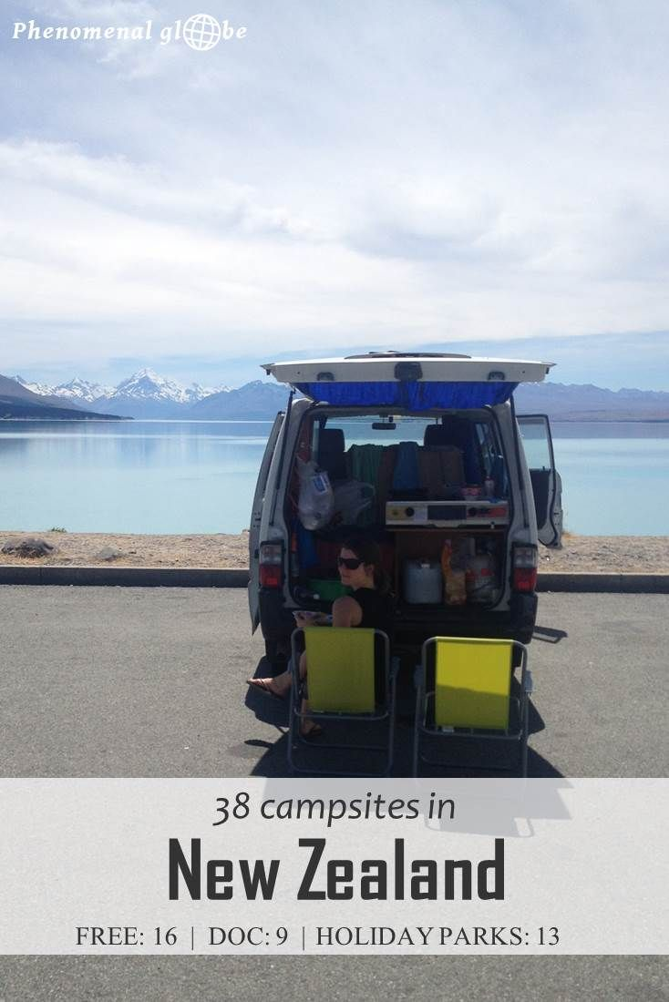 Camping In New Zealand Highly Recommended Where To Camp Check Out These 38 Great Sites I Stayed At On The North And South Island Free Campsites