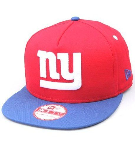 on sale b1972 77590 NFL New York Giants 9Fifty Turnover Snapback Two-Tone Cap, Red Blue
