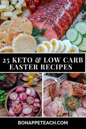 Photo of 25 Keto & Low Carb Osterrezepte #Carb #cream Soup Appetizers #dinners Soup Appet…