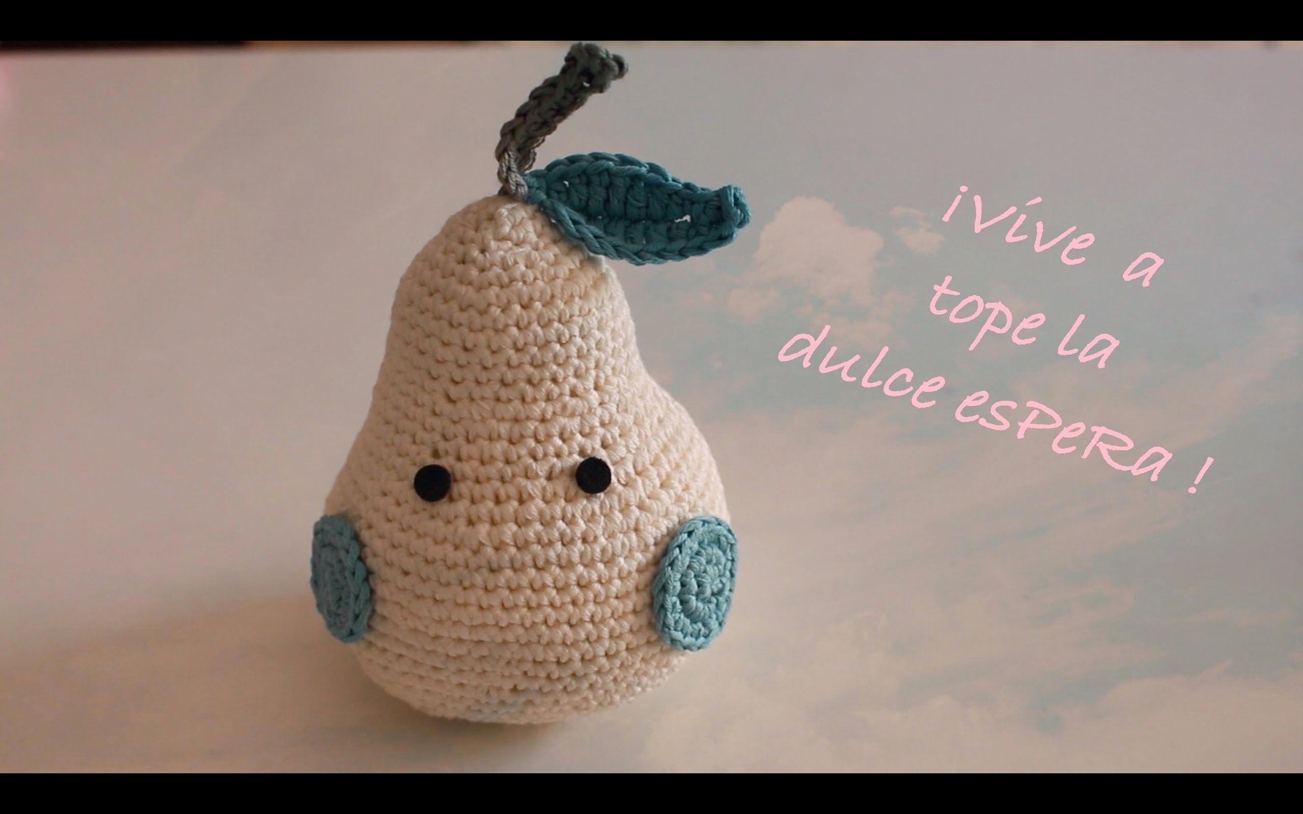 Amigurumis Perros Paso A Paso : Teje tú primera pera a crochet i amigurumi paso a paso i
