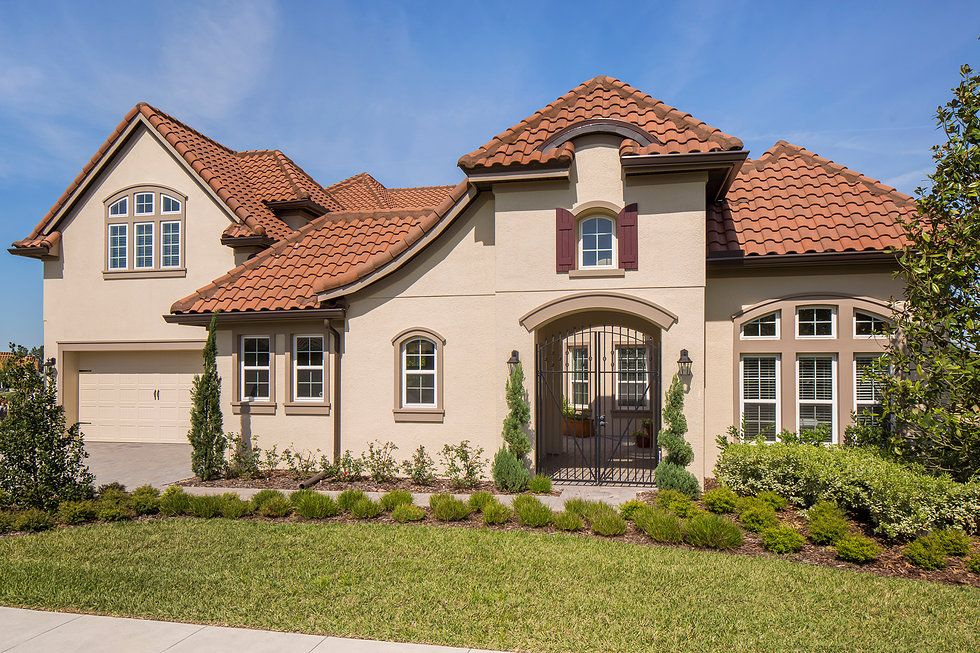Tuscany model by Taylor Morrison builders in Overlook at