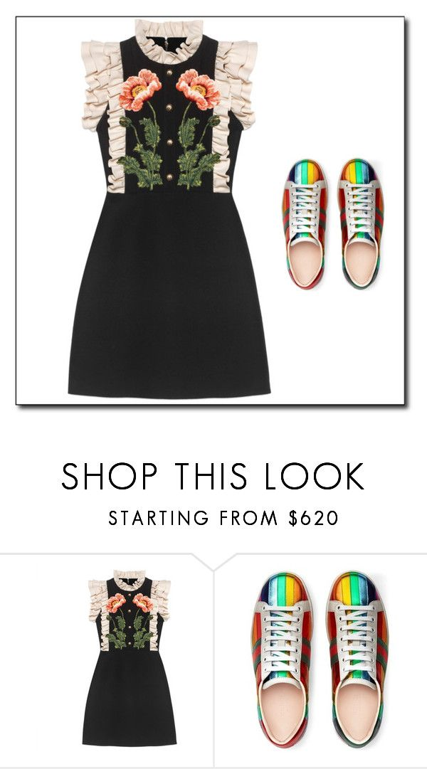"""""""Untitled #2"""" by ruza66-c ❤ liked on Polyvore featuring Gucci"""
