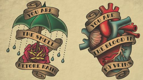 traditional tattoo flash heart - Google Search