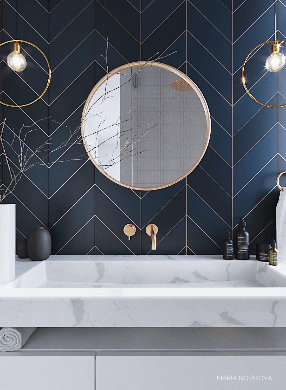 Salon De Bain Moderne Épinglé par vero eymard sur home | idée salle de bain, salle
