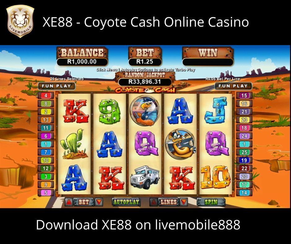 [livemobile888] XE88-Coyote Cash Slot