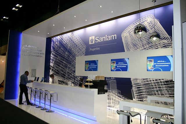 Exhibition Stand Design Cape Town : Sanlam properties gold award winning business lounge i