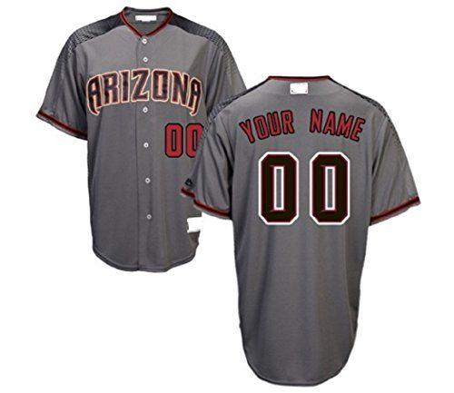 flex base baseball jersey nightys shop mens diamondbacks custom baseball jersey grey embroidered jer