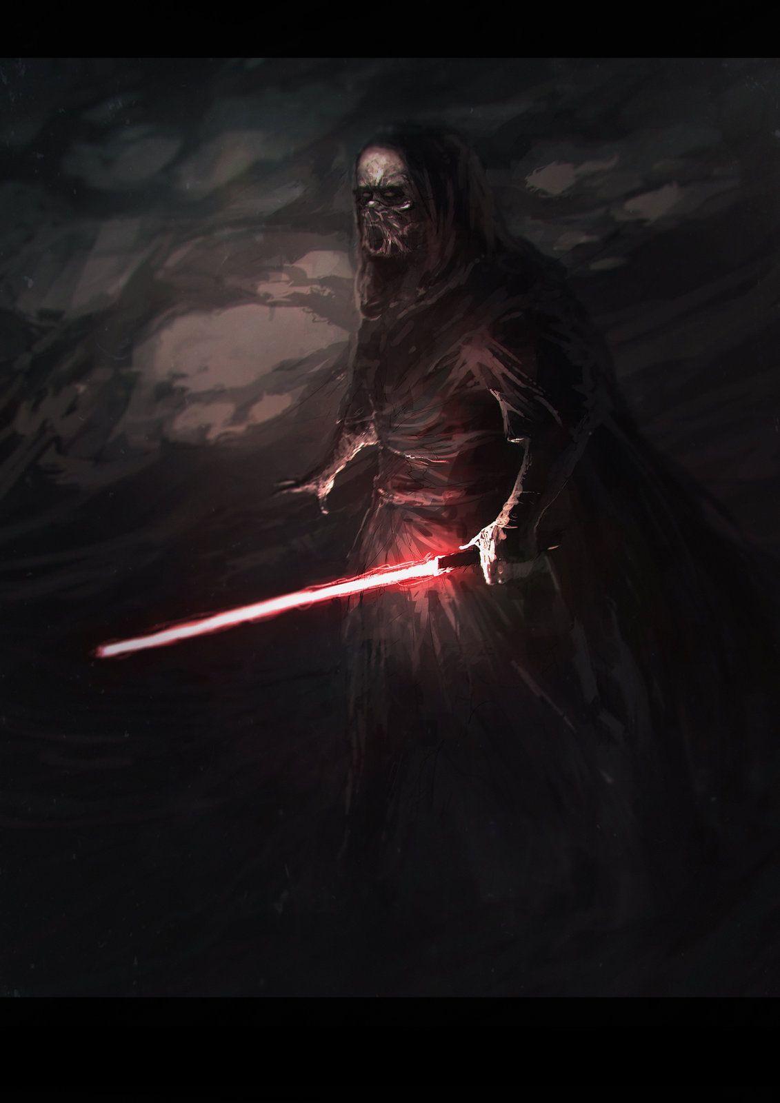 Red fear, Mauro Mussi on ArtStation at https://www.artstation.com/artwork/zOXvL