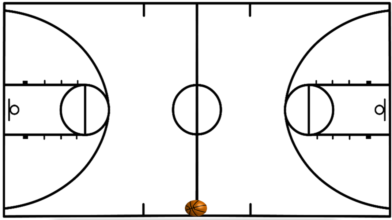 Basketball Court Lines Google Search Basketball Plays Basketball Drawings Basketball Court