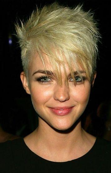 Women Hairstyles Undercut Colour Short Hairstyle Blond And Shorts - Undercut hairstyle ruby rose