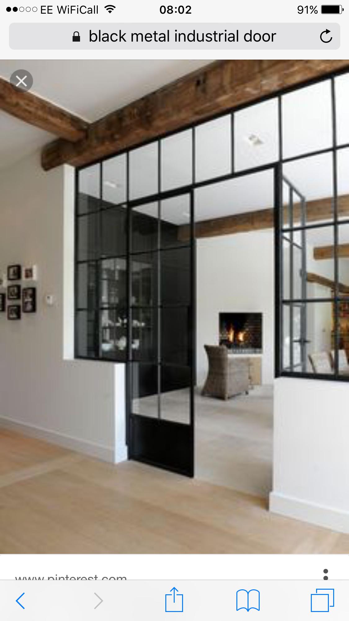 Window wall für zwischenetage in pinterest doors