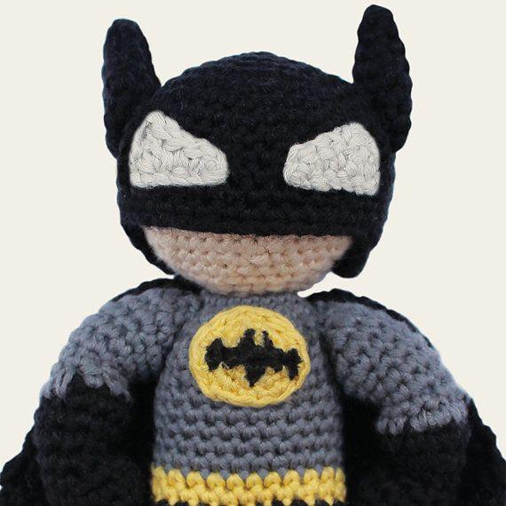 Batman - DC Comics. Amigurumi Pattern PDF, DIY, Crochet Pattern ...