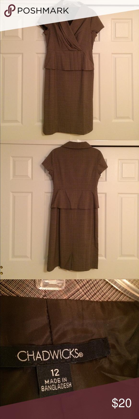 Onepiece suit dress plaid design size and plaid