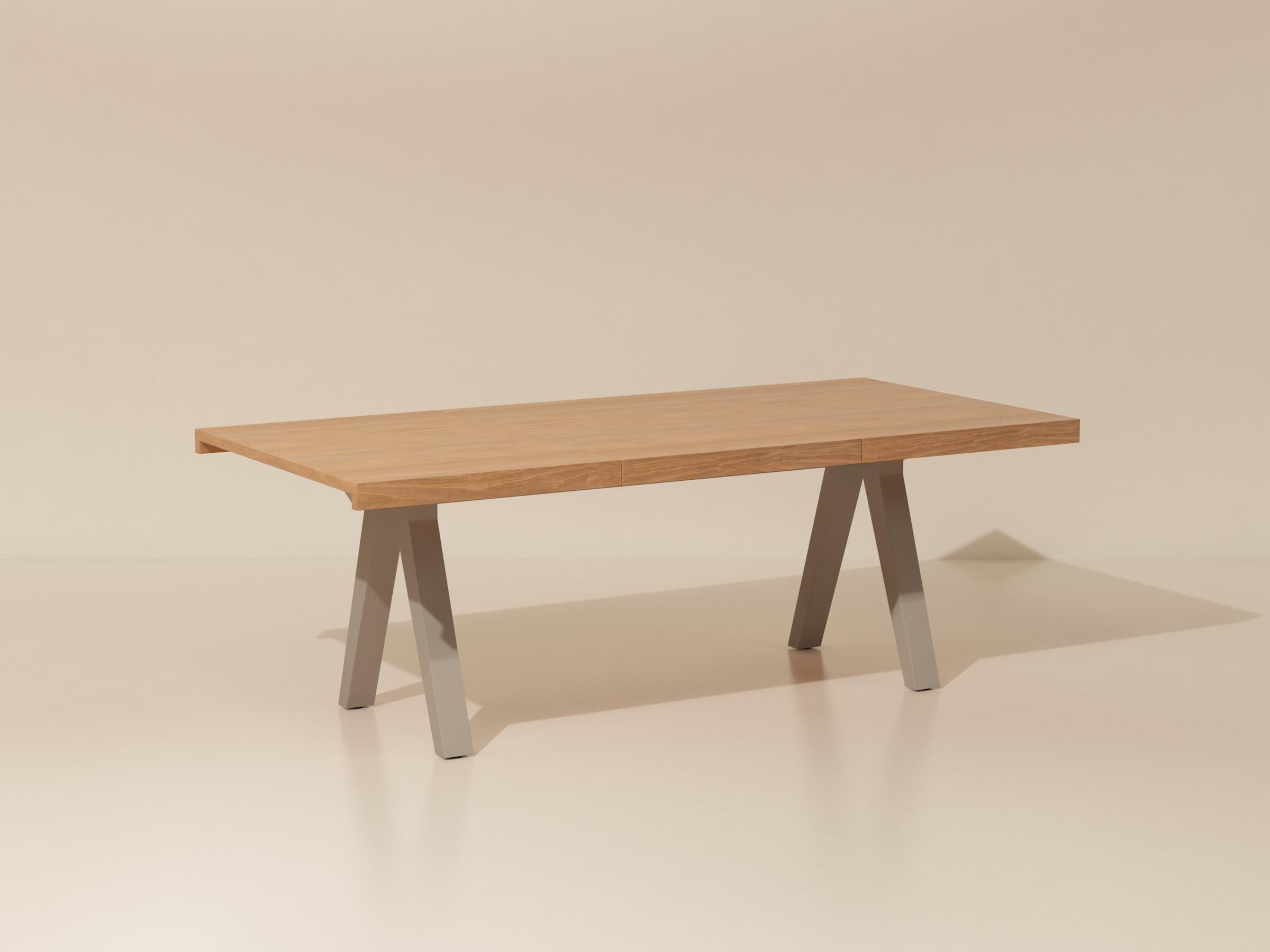 Kettal | Vieques | Table repas 210x101 | mobilier jardin | Pinterest ...