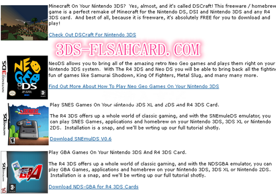Which flashcard supports 3ds/ds games, homebrews and play movies on