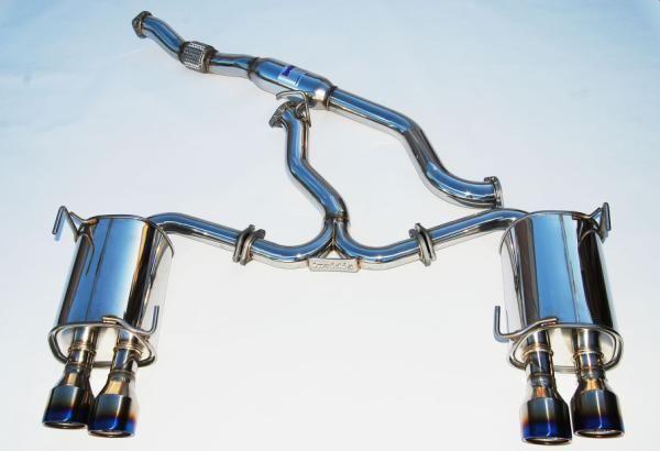 invidia q300 catback exhaust w titanium
