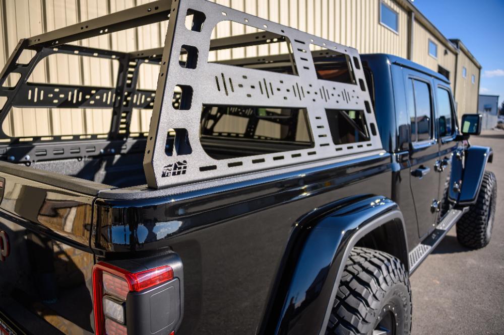 Jeep Gladiator Jt Cab Height Bedrack Cbi Offroad Fab In 2020 Jeep Gladiator Jeep Gladiator