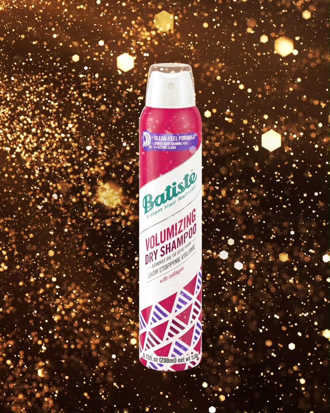 New Batiste Volumizing Dry Shampoo Refresh Feel The Power Of Big Beautiful Hair Video Batiste Dry Shampoo Dry Shampoo Hair Tea