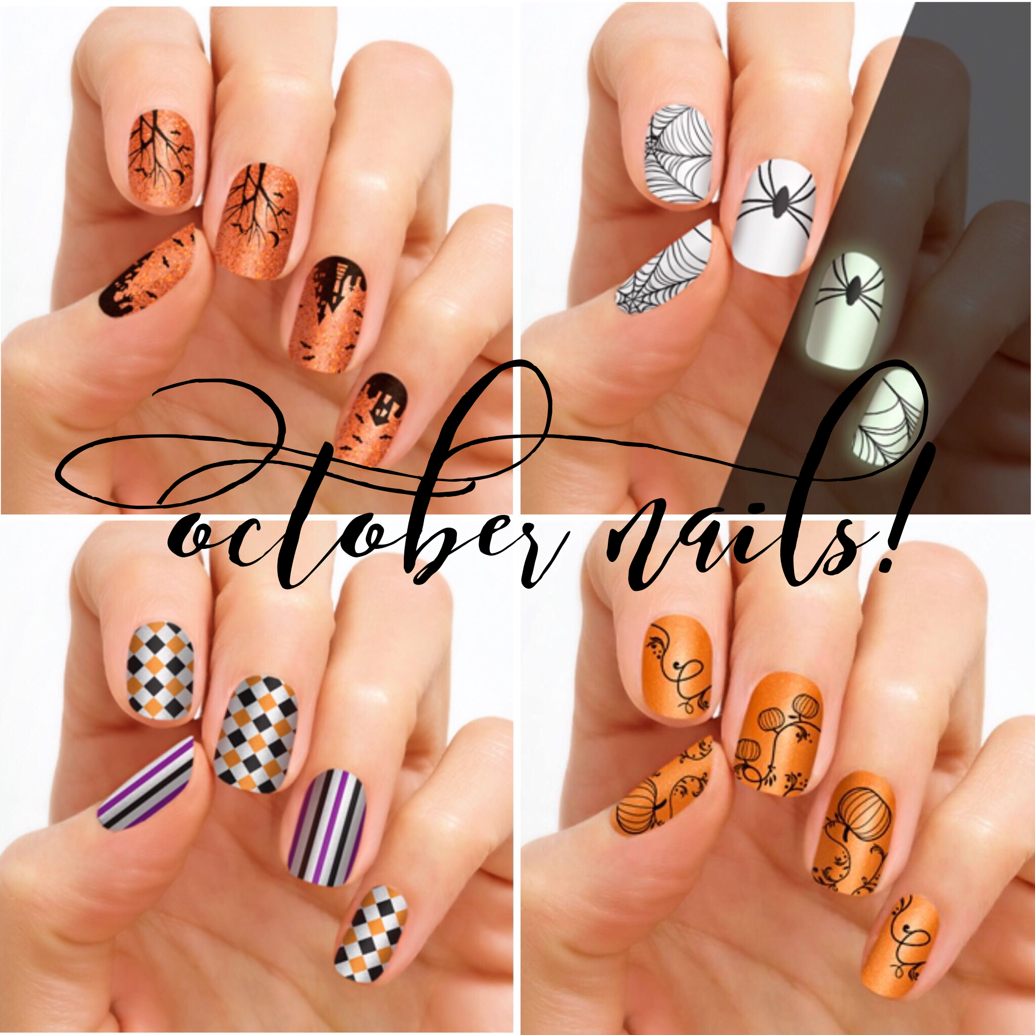 Halloween nails | Color Street | Halloween nail colors ...