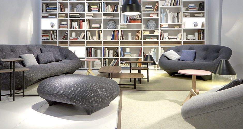 ploum loveseat by ligne roset modern sofas los angeles. Black Bedroom Furniture Sets. Home Design Ideas