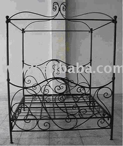 Wrought Iron Four Poster Bed Frames Buy Iron Four Poster Bed