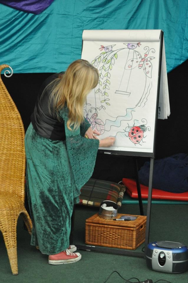 Drawing the Magic Garden