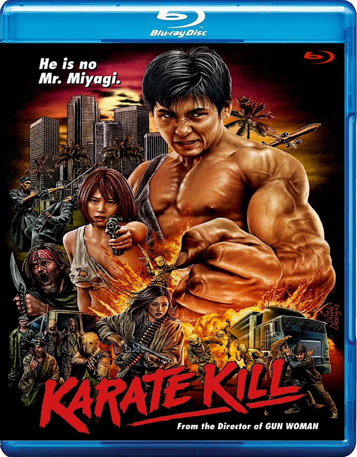 KARATE KILL BLU-RAY (PETRI ENT...
