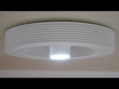 Bathroom Exhale Fans World 1st Bladeless Ceiling Fan With Led