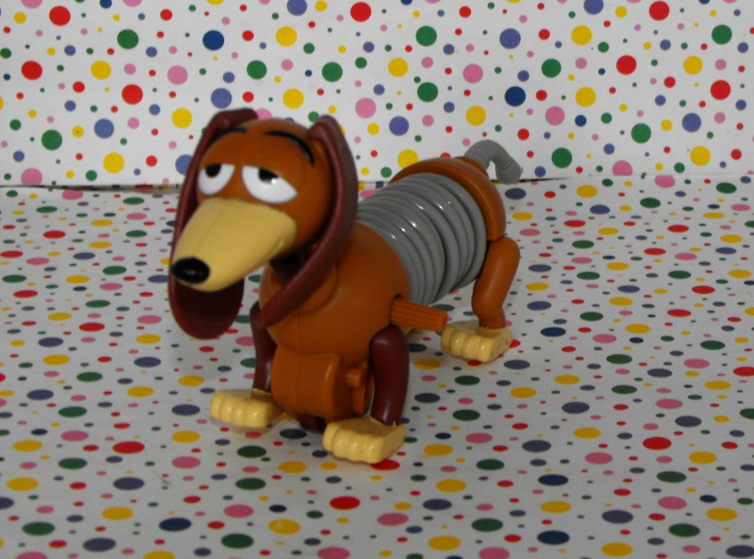 1996 Burger King Toy Story Slinky Dog Figure Another One Of My