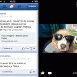 Los desarrolladores de Facebook han lanzado una actualización para su aplicaciones principal para iPhone, iPad como iPod Touch. La cual tiene como principal novedad, que la mayor parte del código en HTML5 ha sido portado a Objetive-C (lenguaje nativo para aplicaciones de iOS), lo cual hace más rápida el funcionamiento de esta aplicación.