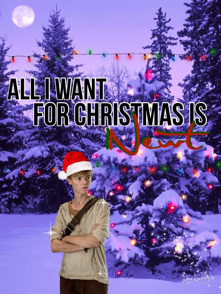 i created this myself all i want for christmas is newt - All I Want For Christmas Cast